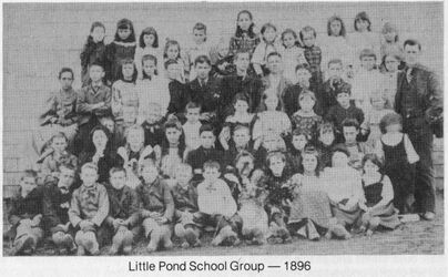 Little Pond School Group 1896