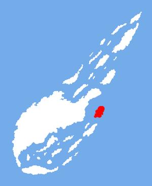 Location of Copper Island