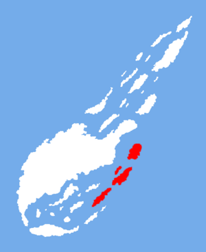 Location of the Metal Islands