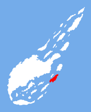 Location of Silver Island