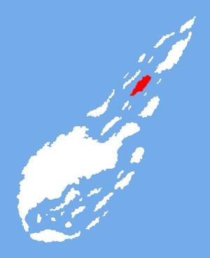 Location of Barnswick Island
