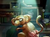 四屁股猴子