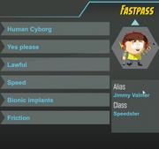 Fastpass ref sheet