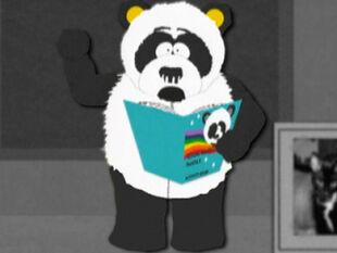 Sexual harassment panda images black