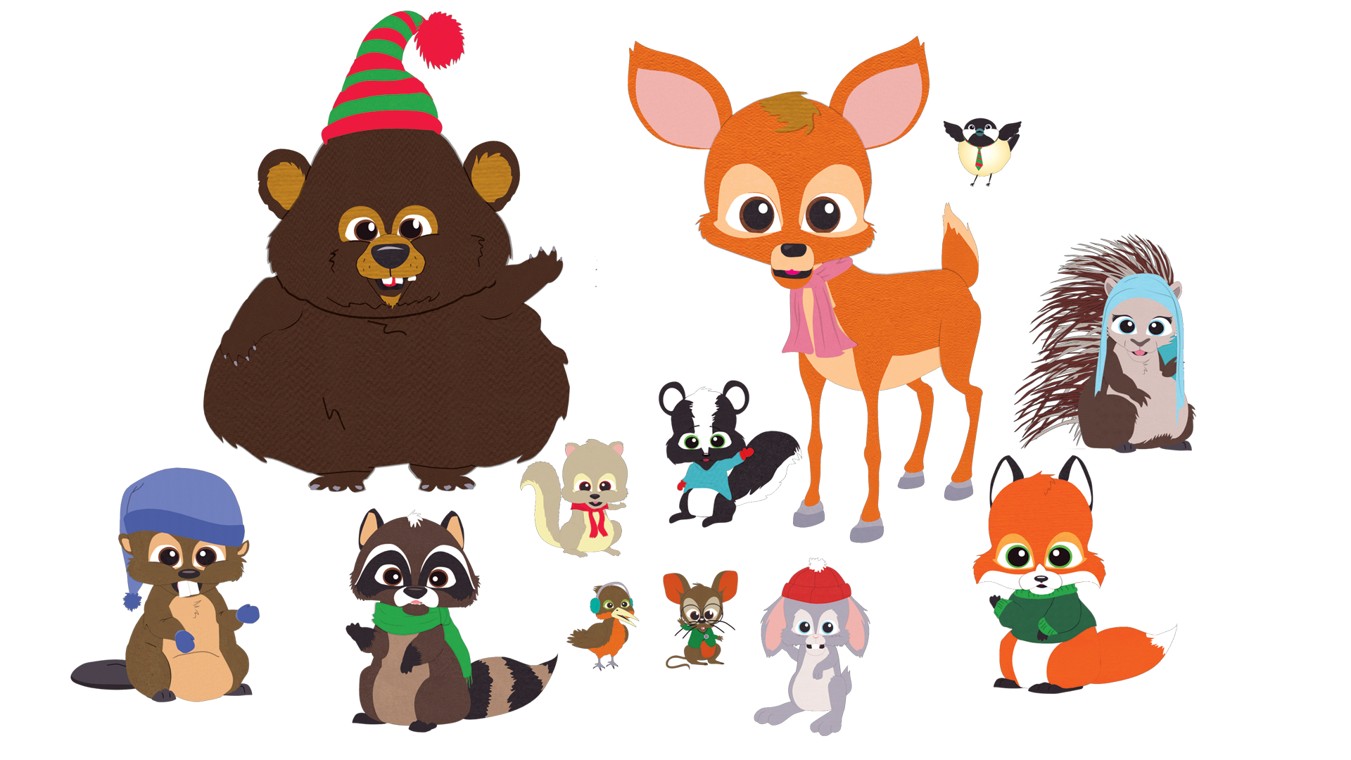 woodland critters south park characters southpark wiki official human