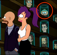 Cartman in futurama