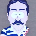 Icon profilepic ghostman w shark bites