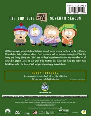 South Park Season 7 - Back