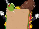 大便三明治