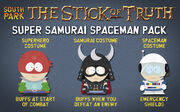 Super Samurai Spaceman Pack