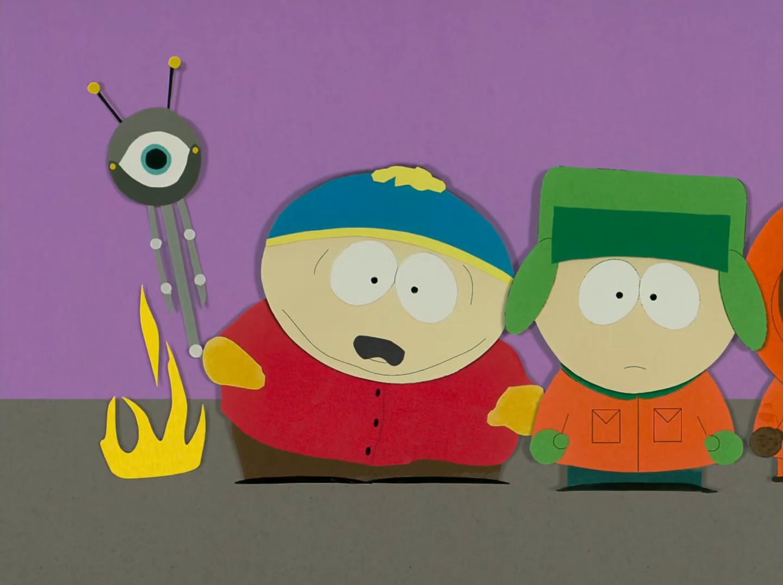 Cartman anal probe