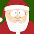 Santa friend icon