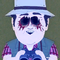 Icon profilepic ghostman w eyes pecked out