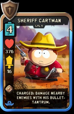 Sheriff Cartman level1