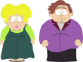 Cartman family unamed aunt and uncle