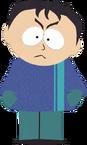 黑发蓝衣六年级生
