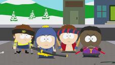忍者打扮的克雷格帮