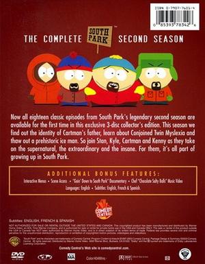South Park Season 2 - Back
