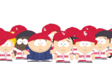 South Park Little League Baseball Team
