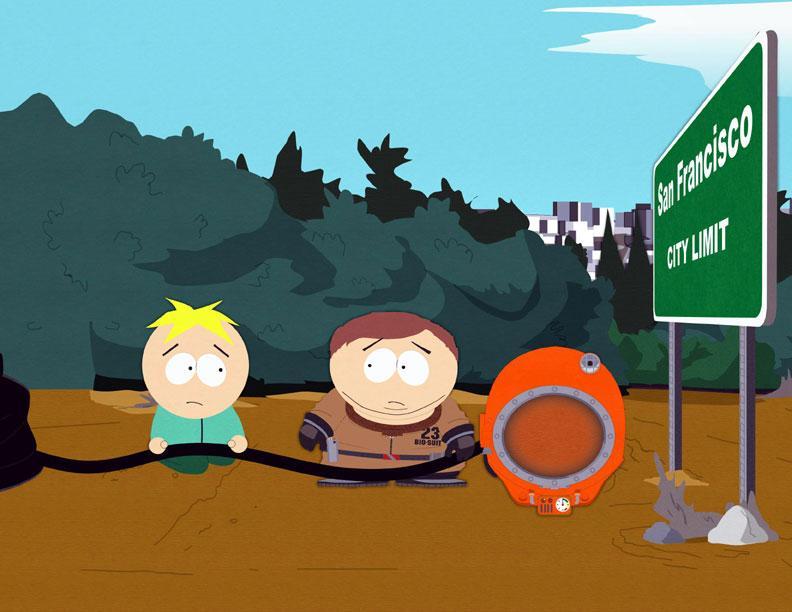 South park prius farts