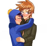 Tweek and Craig; Fleeting Embrace