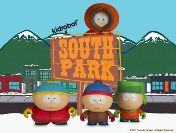 "Kidobot South Park Series 1 Kyle  3/"" Blind Box"