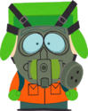 Gas Mask Kyle