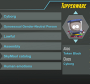 Tupperware ref sheet