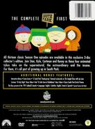 South Park - The Complete First Season tył