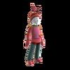 Crab person costume