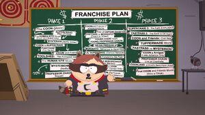 South Park Franchise Super Héros