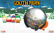 South Park Pinball Key Art