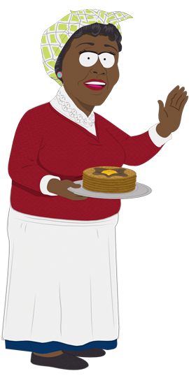 aunt jemima south park archives fandom powered by wikia