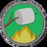Badge baking