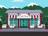 莫奈咖啡厅