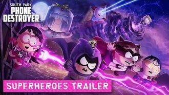 South Park Phone Destroyer - Super Heroes Update Trailer!