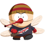 Portrait mosquito