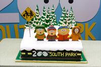 South Park 200 Cake