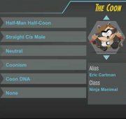 The coon ref sheet