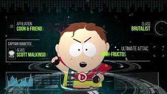 South Park The Fractured but Whole Meet Captain Diabetes