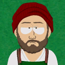 Icon profilepic hipster budtender a