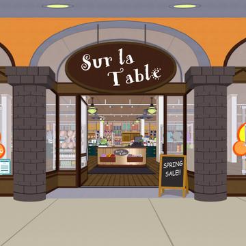 Sur La Table South Park Archives Fandom