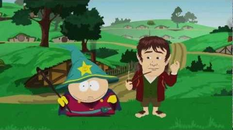 South Park VGAs Opening - Cartman and The Hobbit