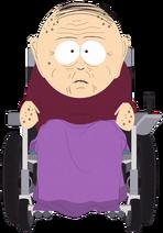 Marsh-family-grandpa-marsh-w-purple-blanket