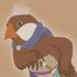 Sparrow prince friend icon