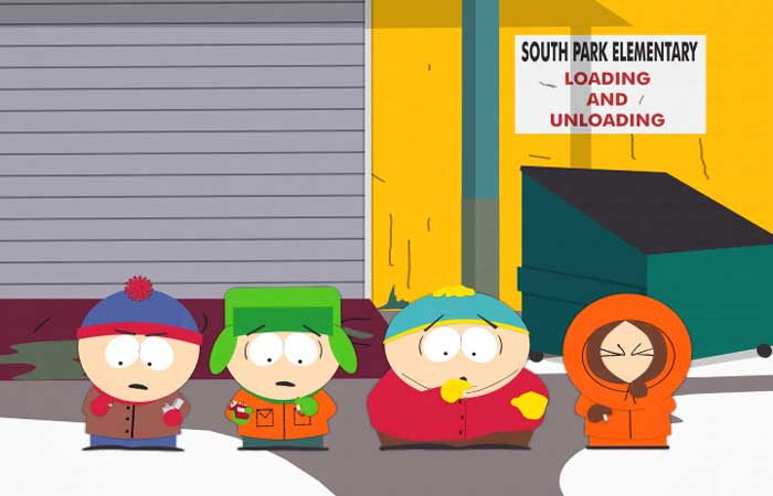 In My Butt Southpark