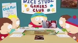 The Dice Studz Gamers Club - South Park