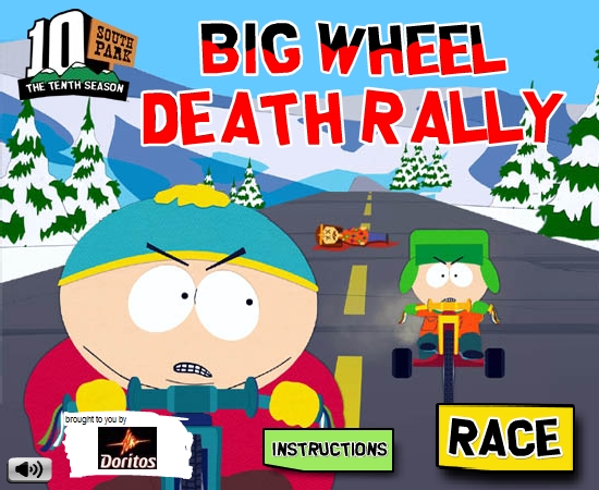South Park Big Wheel Death Rally South Park Archives Fandom