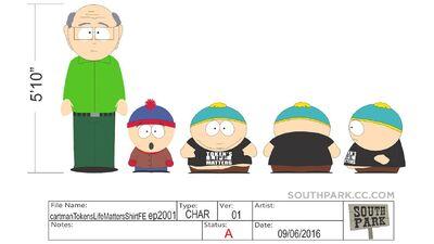 SP2001-behindthescene-cartmansshirt