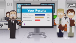 Randy Marsh's DNA results